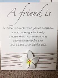Friend sign