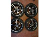 "Toyota, Seat, Skoda, VW and Audi 17"" alloy wheels"