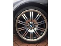 Bmw M3 alloys genuine!! £350