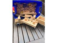 Community wooden play