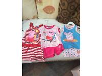 Peppa pig age 3-4 years summer clothes