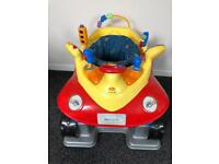 Baby bouncer jumperoo style car