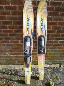 Jobe wooden water skis