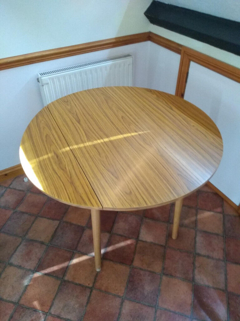 Amazing Small Round Folding Table In Bournemouth Dorset Gumtree Interior Design Ideas Gentotthenellocom