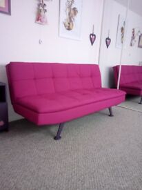 Sofa convertible brand new folds flat to a single or double bed