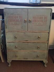 Shabby Chic French Style Cabinet