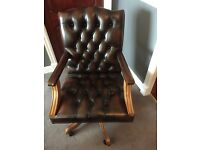 Beautiful Faux Leather Office Chair