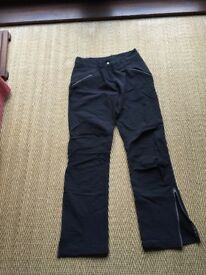 FORCLAZ 900 - WARM, LINED, WIND RESISTANT TROUSERS - WOOMANS SIZE 10
