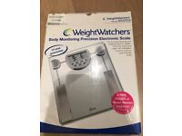 Weighing Scales, WeighWatchers body monitoring precision electronic scale