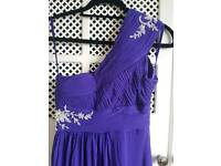 Ladies purple coast formal dress size 6