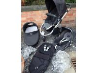 iCandy Apple Jogger with Carrycot & Car Seat