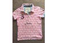 Girls tshirt by JOULES age8yr