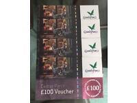 Centerparcs Vouchers worth £400