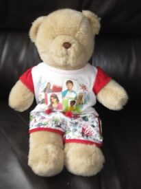 GENUINE BUILD A BEAR in (genuine Build a bear) clothes +FREE soft toy if wanted IMMACULATE CONDITION