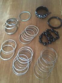 Various Bracelets & Bangles