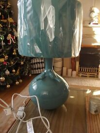 Large Teal Lamp (NEW)