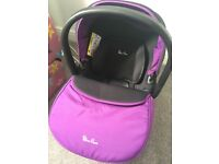 Silver Cross Damson Colour Car seat