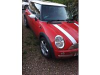 Mini Cooper 2002 1.6 3Door Hatchback Petrol Manual Mot Expired March 2018 Mileage 108,034
