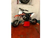 **** KTM SX 50 2011, FOR SALE ***** 50cc kids bike , swap for 50cc quad or ktm 65