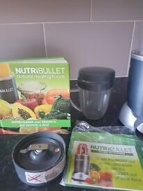 Nutribullet blender plus accessories