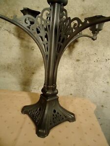 CAST IRON LARGE CANDLE HOLDER West Island Greater Montréal image 3