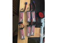 Lipo rc car boat plane batteries