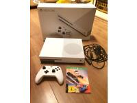 Xbox One S white Console 500GB memory plus 2 games