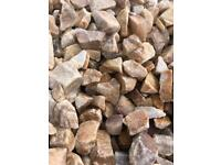 20mm St. Andrews Quartz driveways/garden chips