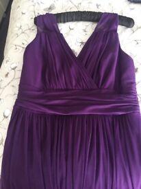 Adult ladies bridesmaid dress size 14