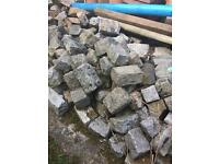 Granite and stone for dry stone walls