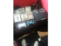 PS3 160gb with 8 games £100 ono including GTA V, silver dual shock controller and controller case