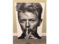 David Bowie art wall good quality print on 5 mm foamex board