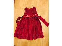 Red dress 3-4 years old