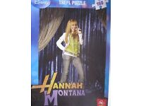 2 X HANNAH MONTANA PUZZLES – one New/Sealed, one Used
