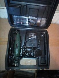 Parkside Dremel 24V Powerful 25W Rotary Tool with full set of bits, excellent condition