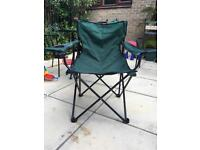 Fold-up Outdoor Chair with cup holder