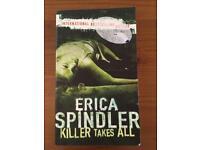 Erika spindler killer takes all paperback book