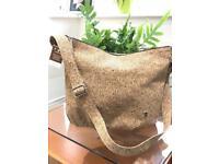 Cork design ladies handbag