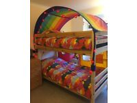 FLEXA bed combination - can make 2 x singles OR 1 x mid-high & 1 x single OR 1 x bunk bed