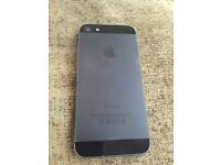 Apple iPhone 5 16GB Black locked to 02 (unlockable)