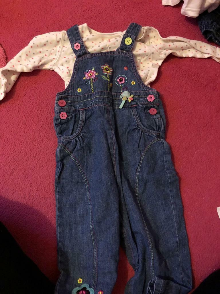 c5aaac328 Girls dungarees 12-28 months | in Sutton-in-Ashfield, Nottinghamshire ...