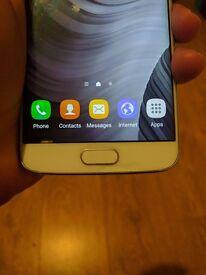 Samsung Galaxy S6 Edge 64 GB Pearl White - Unlocked Smartphone