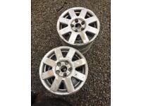 """15"""" 5x112 alloy wheels"""