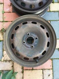 Ford Fiesta steel wheels 15 inch