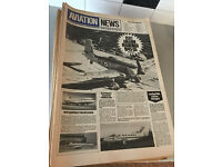 1974-1979 'Aviation News' Newspapers - 137 Issues