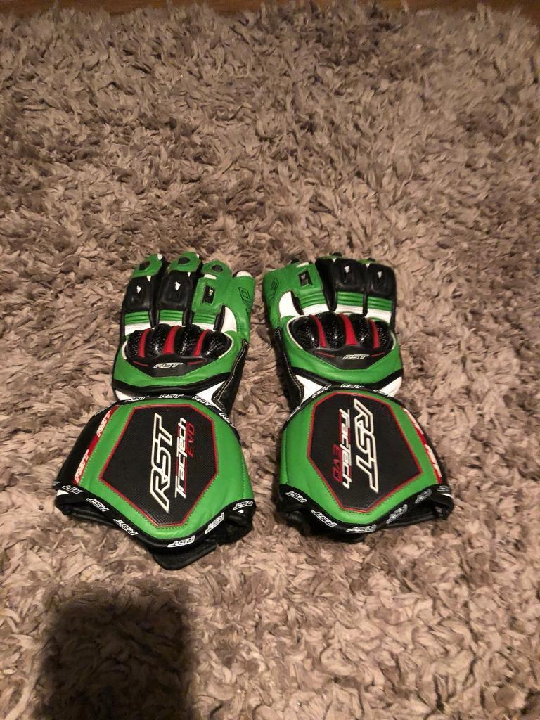 RST TracTech Evo Gloves (Large) as new