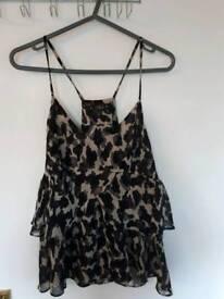 Ladies Miso strappy vest