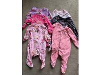 Baby girls 0-3 months Babygrow bundle