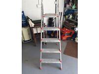 Leifheit 3 Rung Step Ladder with Platform