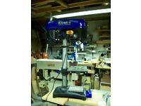 Kobe Bench Mounted Pillar Drill.